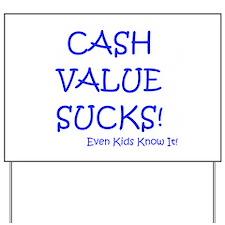 Cool Financial Yard Sign