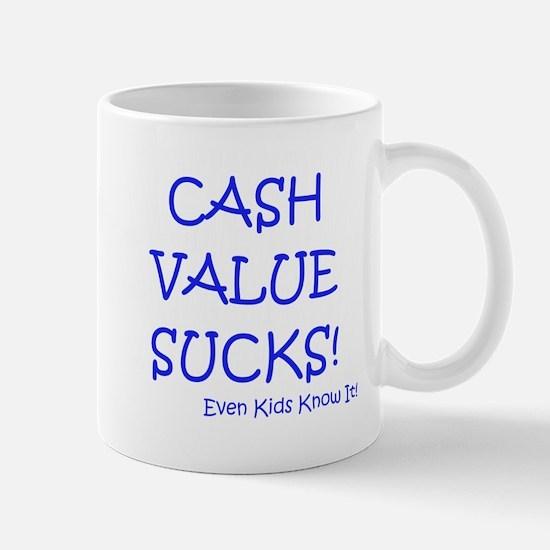 Cute Life insurance Mug