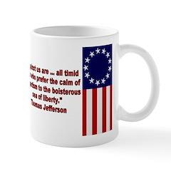 Thomas Jefferson Patriotic Quote Mug