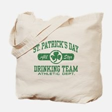 St. Patrick's Day Drinking Tote Bag