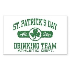 St. Patrick's Day Drinking Decal