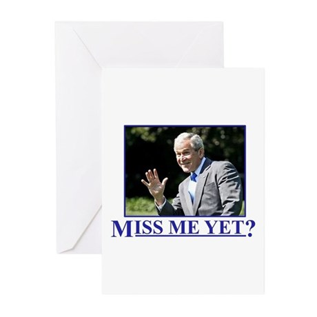 Miss Me Yet? Greeting Cards (Pk of 20)