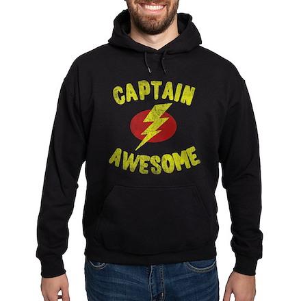 Captain Awesome Dark Hoodie
