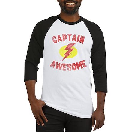 Captain Awesome Baseball Jersey