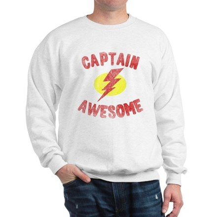Captain Awesome Sweatshirt
