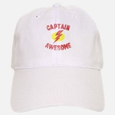 Baseball Baseball Captain Awesome Baseball Baseball Cap