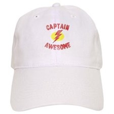 Baseball Captain Awesome Baseball Cap