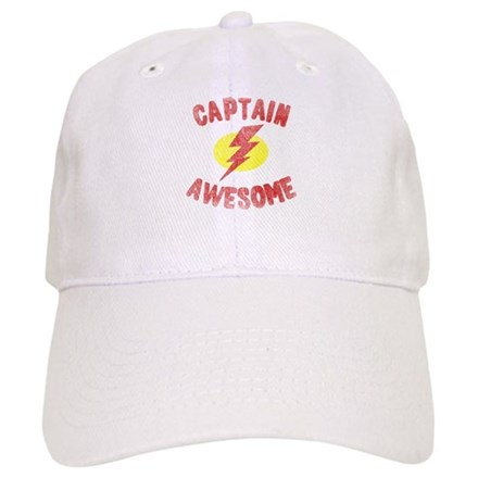 Captain Awesome Baseball Cap