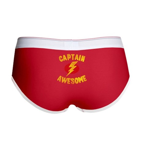Captain Awesome Women's Boy Brief