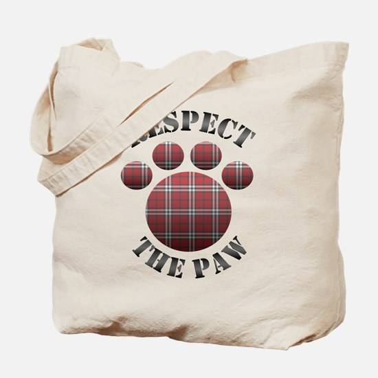 Respect the Paw Tote Bag