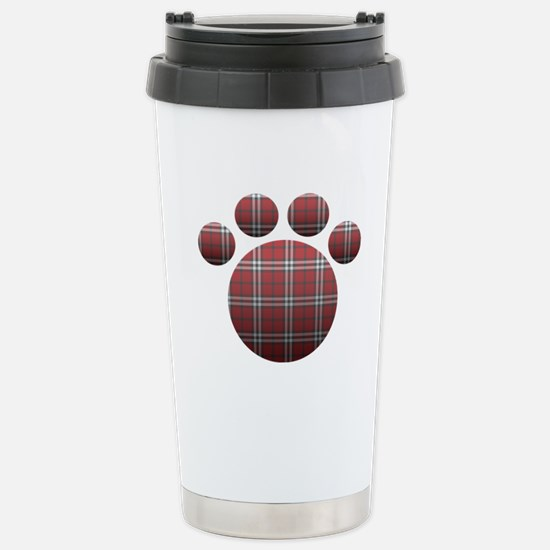 Respect the Paw Stainless Steel Travel Mug