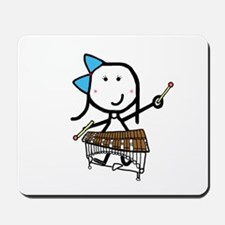 Girl & Pit Percussion Mousepad