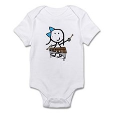 Girl & Pit Percussion Infant Bodysuit