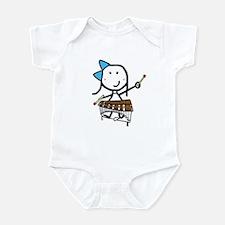 Girl & Pit Percussion Infant Bodysuit