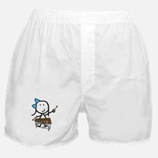 Girl & Pit Percussion Boxer Shorts