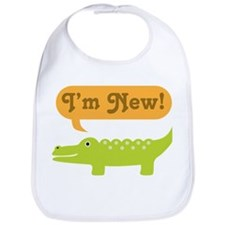 Alligator New Baby Bib