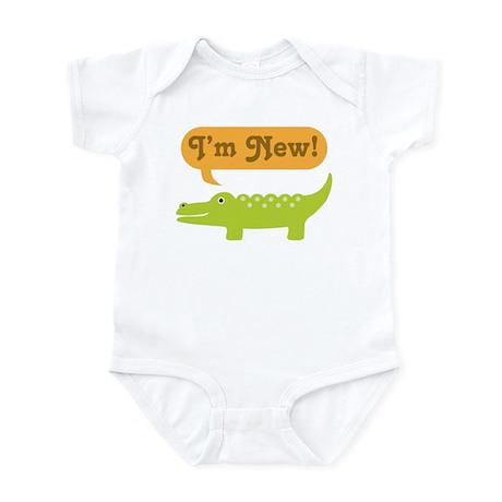 Alligator New Baby Infant Bodysuit