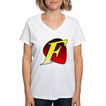 The Fro Women's V-Neck T-Shirt
