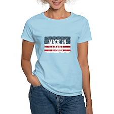 Liberty Bumper Sticker T-Shirt