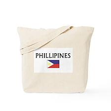 Funny Phillipine flag Tote Bag