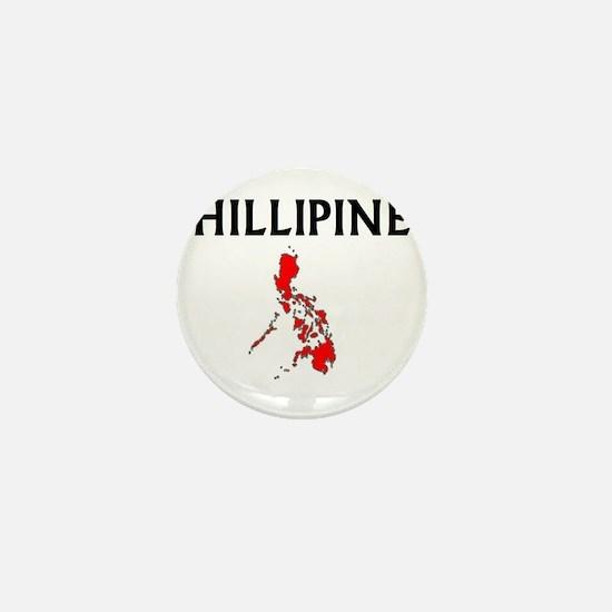 Cute Phillipine flag Mini Button