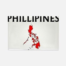 phillippinesmap Magnets
