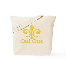 Qui Que Who Dat Cajun Tote Bag