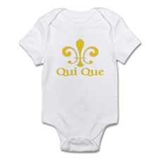 Qui Que Who Dat Cajun Infant Bodysuit