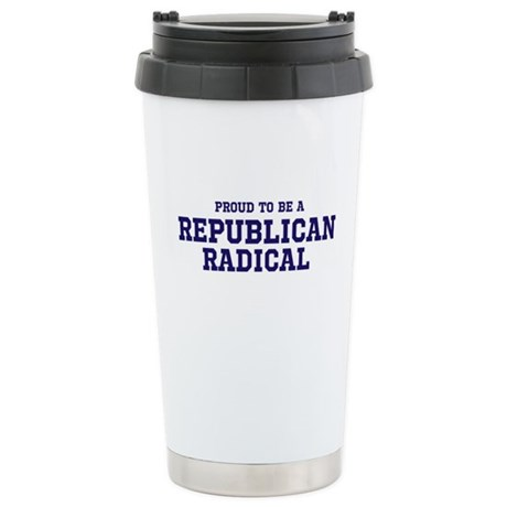 Proud To Be Republican Radica Stainless Steel Trav