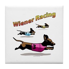 Wiener Racing Tile Coaster