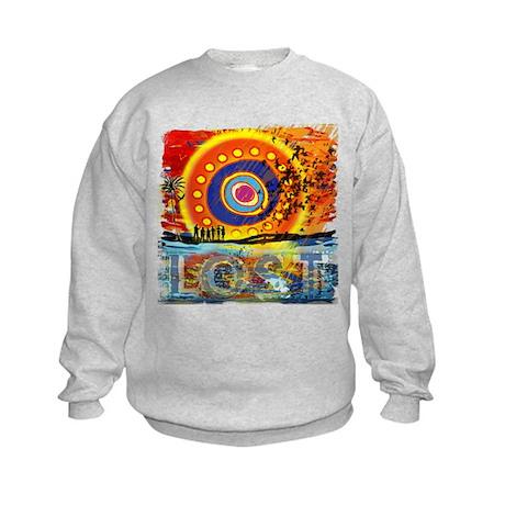 Lost TV Oceanic Sunset Kids Sweatshirt