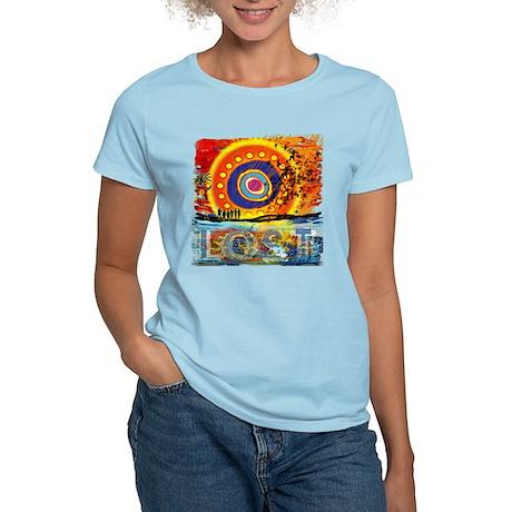 Lost TV Oceanic Sunset Women's Light T-Shirt