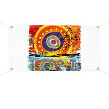 Lost TV Oceanic Sunset Banner