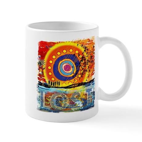 Lost TV Oceanic Sunset Mug
