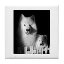 Cute White beautiful Tile Coaster