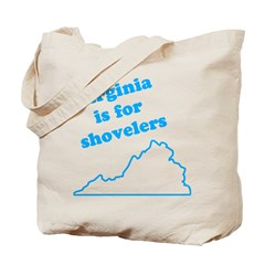 Virginia Is For Shovelers Tote Bag