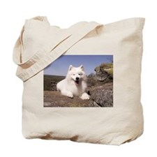 Cute Dog show Tote Bag