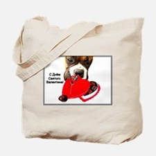Russian Valentine's Day Boxer Tote Bag