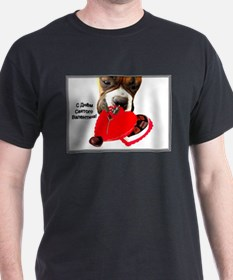 Russian Valentine's Day Boxer T-Shirt