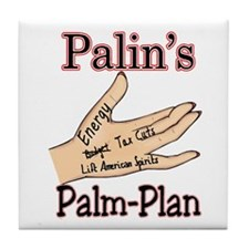 Palm Plan Tile Coaster