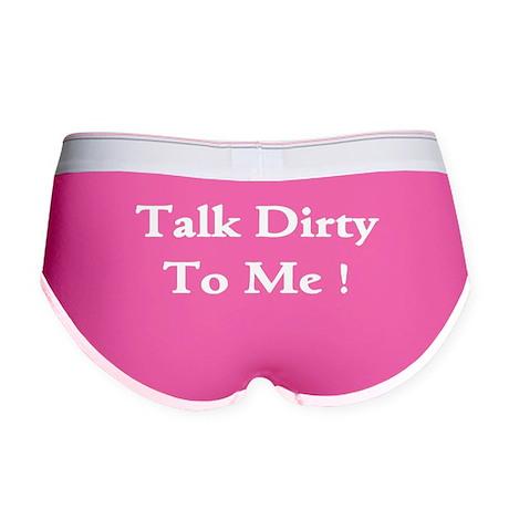Talk Dirty To Me! Women's Boy Brief