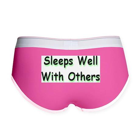 Sleeps Well Women's Boy Brief