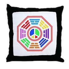 Groovy Dharma Throw Pillow