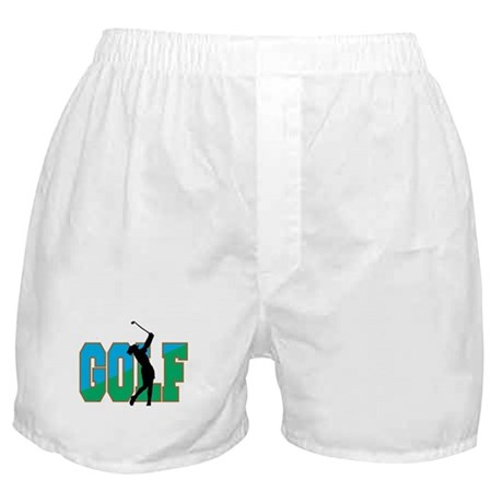 Women's Golf Boxer Shorts