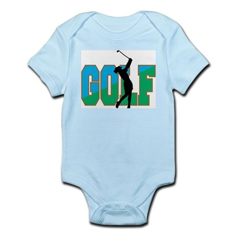 Women's Golf Infant Creeper