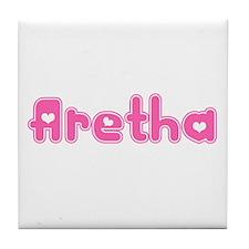 """""""Aretha"""" Tile Coaster"""