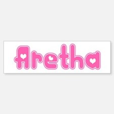 """Aretha"" Bumper Bumper Stickers"