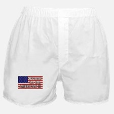 Proud to be American !!! Boxer Shorts