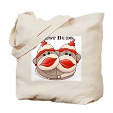 Sock Monkeys Tote Bag