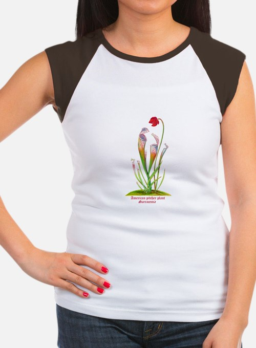 American Pitcher Plant Women's Cap Sleeve T-Shirt